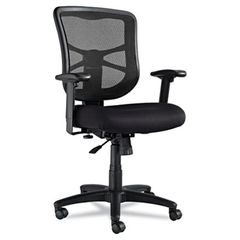 Alera Elusion EL42BME10B Mesh Tilter Chair With Arms