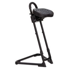 Alera Plus Ss Series Sit/stand Adjustable Stool, Black