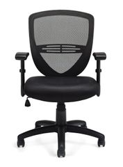 Global OTG11320B Black Mesh Back Managers / Office Chair