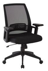 OSP work smart Black mesh office chair