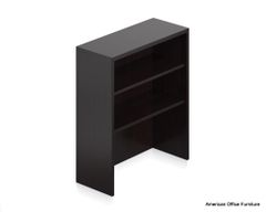 "Laminate Open Hutch Bookcase 36"" x 14"" - OTG - AOF"