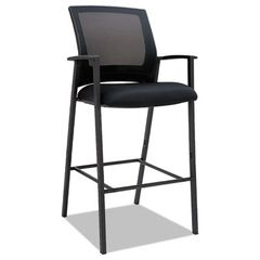 Es Series Mesh Stools, Black, 2 Per Carton
