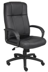 Boss Chair - Black CaressoftPlus High Back Executive Chair B7901