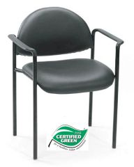 Boss Chair - Contemporary Style Stack Chairs - Colors Available B9501