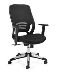 OTG11685B Mesh Back Managers Chair