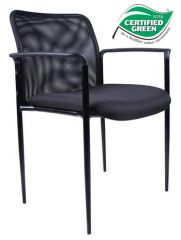 Boss Chair - Stackable Mesh Guest Chair - Colors Available B6909
