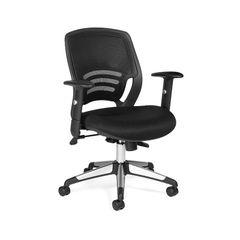 OTG11686B Mesh Back Managers Chair