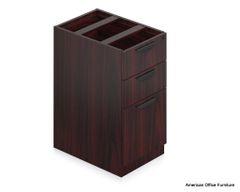 "Laminate Box/Box/File Pedestal 16"" x 22"" - OTG - AOF"