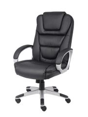 Boss Chair - Black LeatherPlus High Back Executive Chair B8601 / B8601-BB
