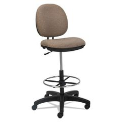 Interval Series Swivel Task Stool, Sandstone Fabric