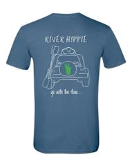 River Hippie Signature Shirt, Short Sleeve
