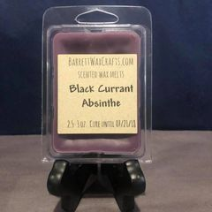 Black Currant Absinthe scented wax melt.