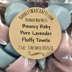 Blended Melts: Bouncy Baby + Pure Lavender + Fluffy Towels