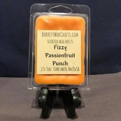Fizzy Passionfruit Punch scented wax melt.