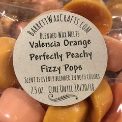 Blended Melts: Valencia Orange + Perfectly Peachy + Fizzy Pops