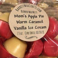 Blended Melts: Mom's Apple Pie + Warm Caramel + Vanilla Ice Cream