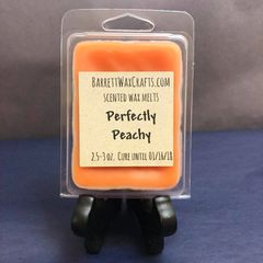 Perfectly Peachy scented wax melt.