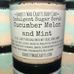Indulgent Sugar Scrub - Cucumber Melon and Mint