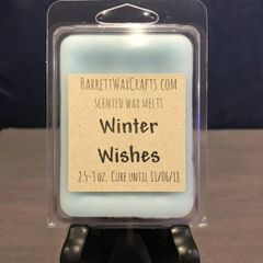 Winter Wishes scented wax melt.