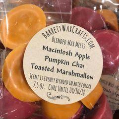 Blended Melts: Macintosh Apple + Pumpkin Chai + Toasted Marshmallow