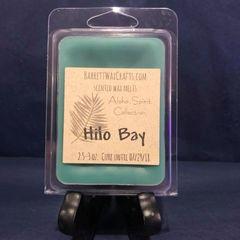 """Aloha Spirit Collection"" Hilo Bay scented wax melt."