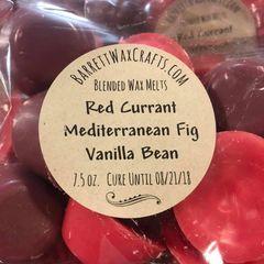 Blended Melts: Red Currant + Mediterranean Fig + Vanilla Bean