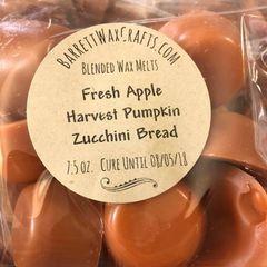 Blended Melts: Fresh Apple + Harvest Pumpkin + Zucchini Bread