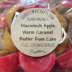 Blended Melts: Macintosh Apple + Warm Caramel + Butter Rum Cake
