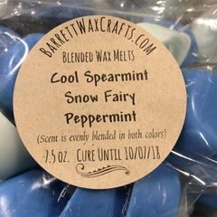 Blended Melts: Cool Spearmint + Snow Fairy + Peppermint