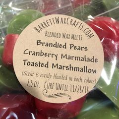 Blended Melts: Brandied Pears + Cranberry Marmalade + Toasted Marshmallow