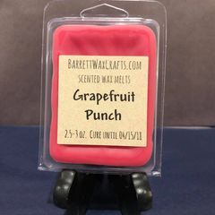 Grapefruit Punch scented wax melt.
