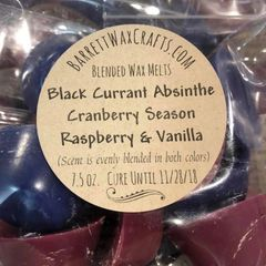 Blended Melts: Black Currant Absinthe + Cranberry Season + Raspberry & Vanilla