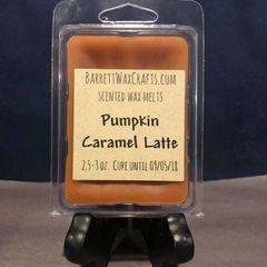 Pumpkin Caramel Latte scented wax melt.