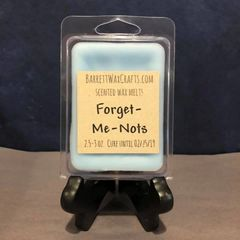 Forget-Me-Nots scented wax melt.