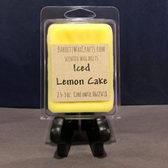 Iced Lemon Cake scented wax melt.