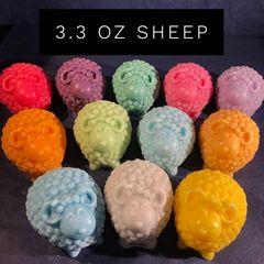 Sheep Melt - Black Code, Shaving Gel, Clean Steel