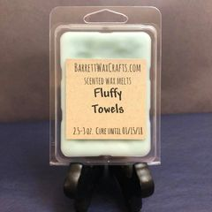 Fluffy Towels scented wax melt.