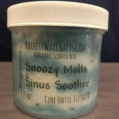 Large Scoopable Wax - Snoozy Melts + Sinus Soother