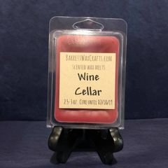 Wine Cellar scented wax melt.