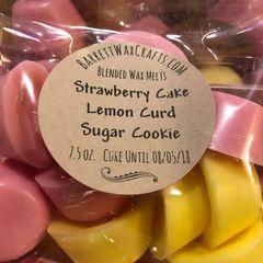 Blended Melts: Strawberry Cake + Lemon Curd + Sugar Cookie