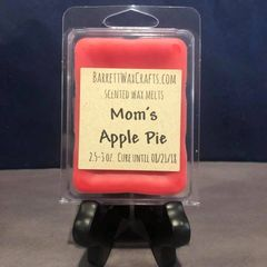 Mom's Apple Pie scented wax melt.