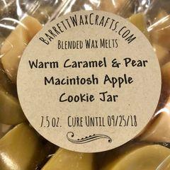 Blended Melts: Warm Caramel & Pear + Macintosh Apple + Cookie Jar