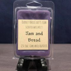 Jam and Bread scented wax melt.