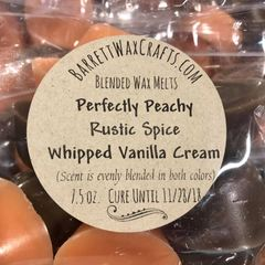 Blended Melts: Perfectly Peachy + Rustic Spice + Whipped Vanilla Cream