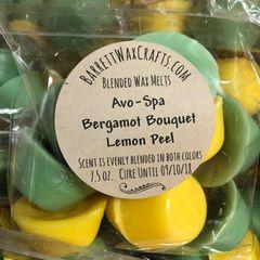 Blended Melts: Avo-Spa + Bergamot Bouquet + Lemon Peel