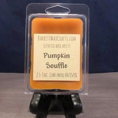 Pumpkin Souffle scented wax melt.