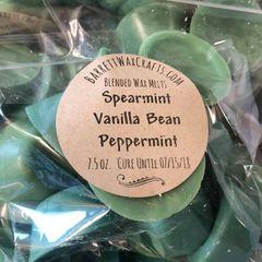 Blended Melts: Spearmint + Vanilla Bean + Peppermint