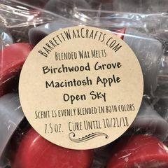 Blended Melts: Birchwood Grove + Macintosh Apple + Open Sky