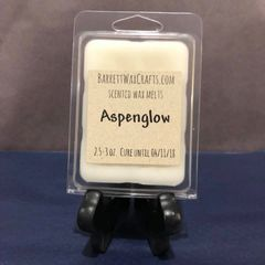 Aspenglow scented wax melt.