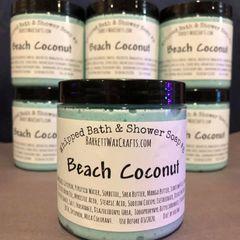 Whipped Bath & Shower Soap #8 - Coconut Beach